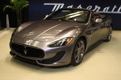 Maserati Granturismo at 2013 Toronto Auto Show Stock Photography