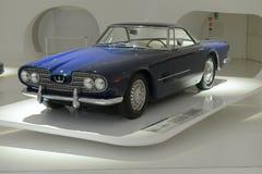 Maserati 5000GT Touring. Ferrari museum in Modena presents a 100 years of Maserati celebration expo Royalty Free Stock Photography