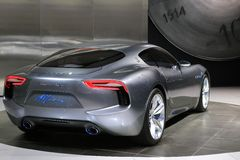 Maserati at the International Auto Show Royalty Free Stock Photo