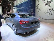 maserati 2015 Internationale toont Auto van New York Stock Foto's