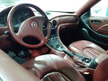 Maserati kabin royaltyfri fotografi