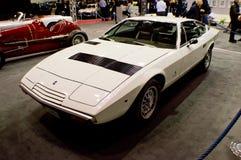 Maserati Khamsin in Milaan Autoclassica 2016 Royalty-vrije Stock Foto's