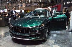Maserati Levante em Genebra 2019 fotografia de stock royalty free