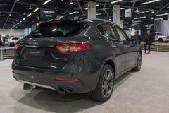 Maserati Levante op vertoning Royalty-vrije Stock Foto