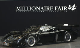 Maserati at Millionaire Fair. Munich - 16-19 oct Stock Image