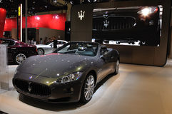 Maserati paviljong Royaltyfria Bilder