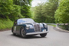 Maserati A6 1500 Pininfarina in Mille Miglia 2013 Royalty Free Stock Images