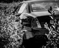 Maserati Quattroporte豪华GT跑车 免版税库存照片