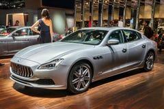 Maserati 2018 Quattroporte fotografía de archivo libre de regalías