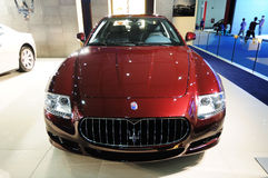 Maserati Quattroporte s Royalty Free Stock Images