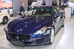 Maserati Quattroporte S Q4 Royaltyfria Foton