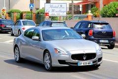 Maserati Quattroporte Royalty Free Stock Photos