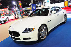 Maserati Quattroporte Sport GT S Stock Photo