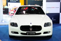 Maserati Quattroporte Sport GT S Royalty Free Stock Photography
