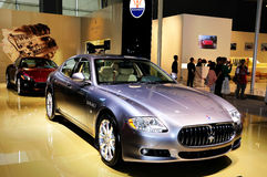 Maserati Quattroporte SportGTS Royalty-vrije Stock Foto