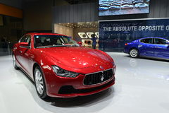 Maserati Quattroporte Sportscar Stock Afbeelding