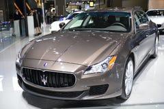 Maserati Quattroporte Sportscar Royalty Free Stock Image