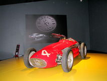 Maserati racing car, exhibited at the National Museum of Cars. Stock Photos