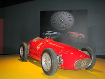 Maserati racing car, exhibited at the National Museum of Cars. Royalty Free Stock Image