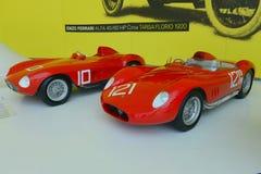 Maserati 300S赛跑的传奇 库存照片