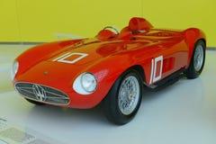 Maserati 300S tävlings- legend royaltyfria bilder