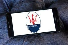 Maserati samochodu logo Zdjęcia Stock