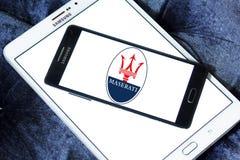 Maserati samochodu logo Fotografia Stock