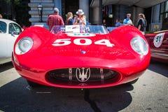 Maserati 1957 200SI Lizenzfreie Stockfotos