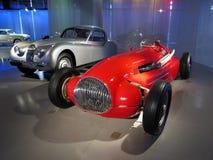 Maserati  Sport Car. A red Maserati sports car in exhibition hall Stock Image