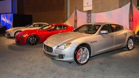 Maserati-Tentoongesteld voorwerp Stock Foto