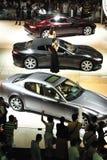 Maserati Vertriebs-, Gemein- und Verwaltungskosten autoshow 2012 Lizenzfreie Stockbilder