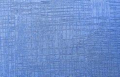 Masern Sie blaue abstrakte Zeichnung in den häufigen glatten Wellen der verschiedenen Richtungen lizenzfreie stockbilder