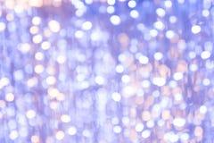 Masern Sie bokeh Nachtzeit für x-` mas-Feiertagshintergrund Lizenzfreie Stockfotografie
