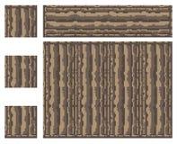 Masern Sie für platformers Pixel-Kunstvektor - alter Spaltensteinblock stock abbildung
