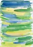 Masern Sie Farbe auf Papier, Jpg der hohen Auflösung stock abbildung