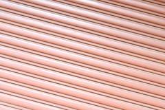 Masern Sie gewölbte Blechtafel, Schiebetür, Stahltür Stockbilder
