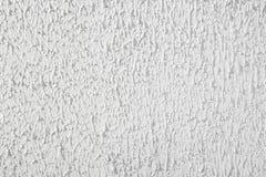 Masern Sie Gipsstuckhintergrund, weiße Wand, rauer Kitt Lizenzfreie Stockfotografie