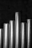 Masern Sie modernen Hintergrund des Designs mit Linien der vertikalen Streifen im Schwarzweiss-Plan Lizenzfreie Stockfotos