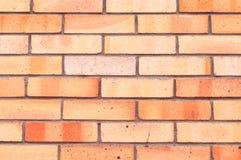 Masern Sie Steinhintergrund der Wand des roten Backsteins, Beschaffenheitswandoberfläche mit roten Backsteinen Stockbilder