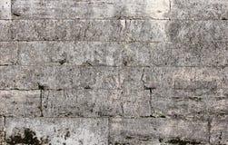 masern Sie Steinwand Gatchina-Palast, errichtet von Pudozh -, das um den Dorfbezirk Pudost, 17. Jahrhundert produziert wird Stockfotos