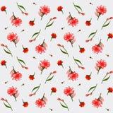 Masern Sie von den Knospenlilien, elegante Postkarte Lizenzfreies Stockbild
