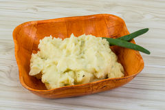 Mash potato Royalty Free Stock Image