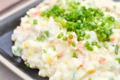 Mash potato with vegetable Stock Photography
