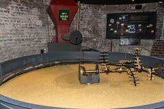 Mash turn for distilling whiskey, Dublin, Ireland, 2015. Pot for mash turn at Old Jameson Distillery in Dublin Royalty Free Stock Images