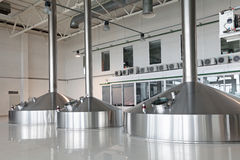 Mash vats Royalty Free Stock Images