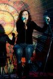 Masha Makarova et groupe Masha et ours Photo stock