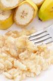Mashed Banana Royalty Free Stock Image
