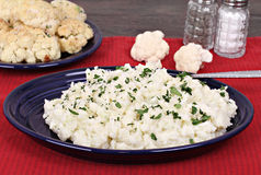 Mashed Cauliflower Royalty Free Stock Photography