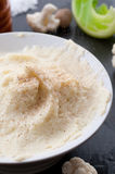 Mashed Cauliflower With Nutmeg Stock Photos