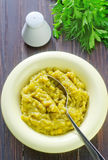 Mashed mung beans Royalty Free Stock Image
